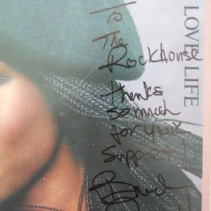 a&m Wall Art - Brenda Russell Love Life Authentic Signed LP